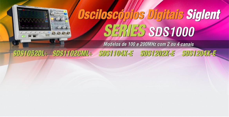 Osciloscópio Digital Siglent Series SDS1000X-e