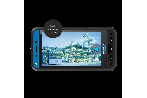 Smartphone industrial Somente Câmera ECOM Instruments Smart-Ex 02 DZ1/DZ2