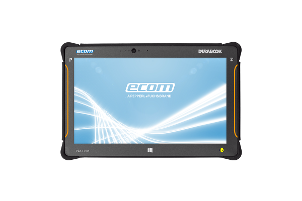 Tablet Rugged ECOM Instrumens Pad-Ex 01 P8 D2 para Divisão 2 Windows