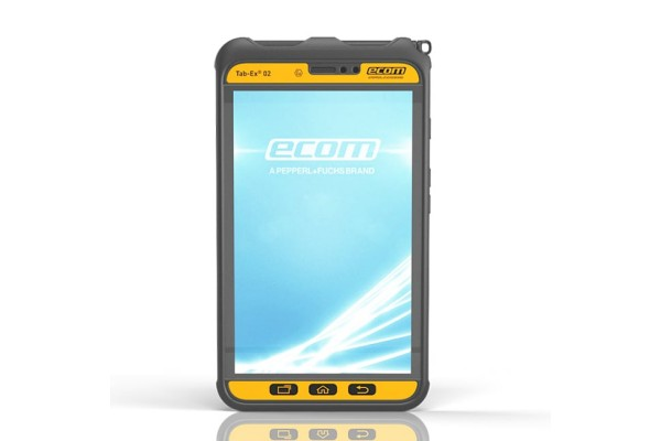Tablet Rugged Ecom Instruments Tab-Ex 02 para Zona 2 e Divisão 2