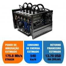 Rig de Mineração Personalizável até 6xGPUs Poderoso Thor Datasonic