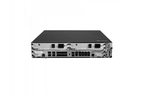 Roteador Empresarial Huawei AR6280 10Gbps/12Gbps + Portas Fixas WAN: 14x10GESFP+ (Compatível com GESFP), 10xGERJ45 NetEngine