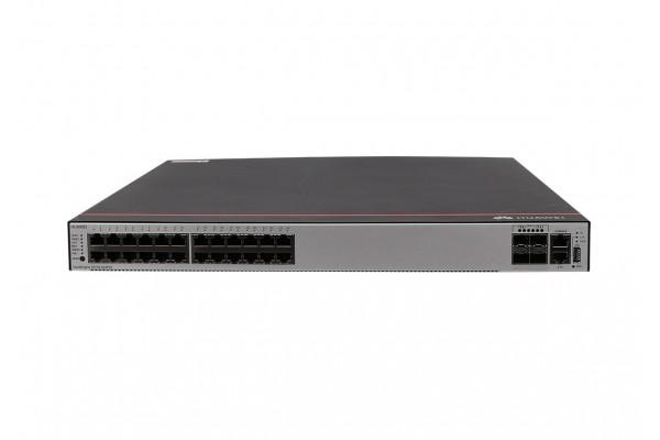 Switch Gerenciável 24 Portas Gigabit 4 SFP+ Huawei S5735-S24P4X