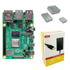 Placa de Desenvolvimento Raspberry Pi 4 Basic Kit