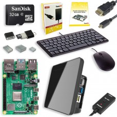 Placa de Desenvolvimento Raspberry Pi 4 Desktop Kit com Display
