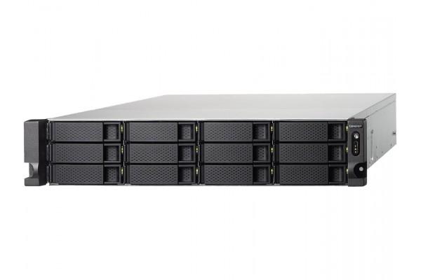 Servidor NAS Qnap TS-1232XU-RP-4G 2U 12x 3.5pol 4GB DDR4