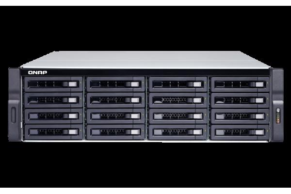 Servidor NAS Qnap TS-1673U-8G 16x 2.5 AMD R Series Quad-core 2.1GHz 8GB DDR4 RAM 4x1GbE 2x10G SFP+