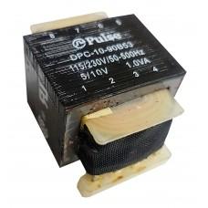 Transformador de Potência Pulse DPC-10-90B53 115V-230V 5V-10V 1.0VA