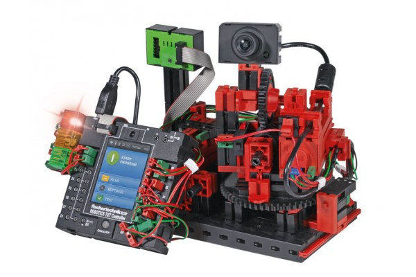 Kit Robótica FischerTechnik 544937 - Módulo de Coleta de Dados para IIoT 6 Modelos 220 Peças