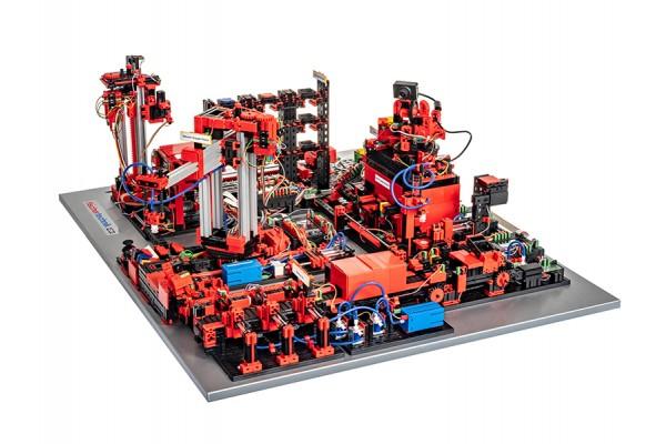 Kit Robótica FischerTechnik 551584 - Plataforma de Indústria 4.0 em 9V