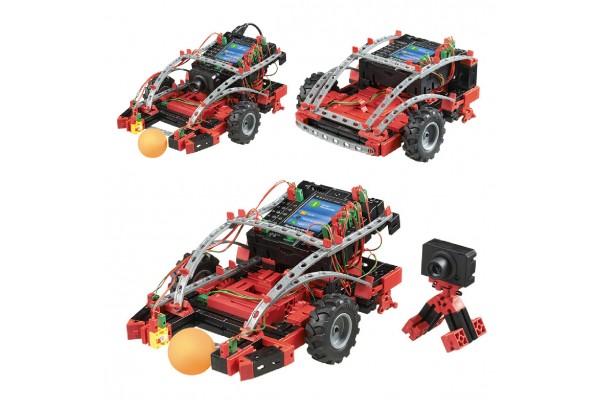 Kit Robótica FischerTechnik 533018 - Módulo de Robótica Avançada 14 Modelos 310 Peças