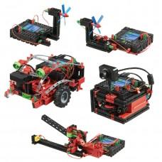 Kit Robótica FischerTechnik 519143 - Módulo de Competição de Robótica 20 Modelos 670 Peças