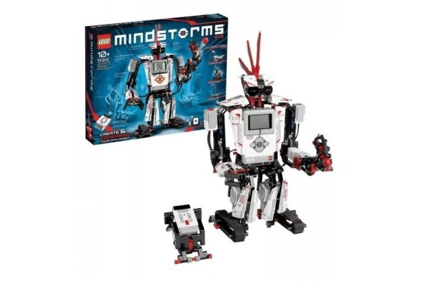 Lego Mindstorms Ev3 com 601 Peças - 31313