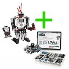 Lego Mindstorms Ev3 + Conjunto Expansão Mindstorms Ev3