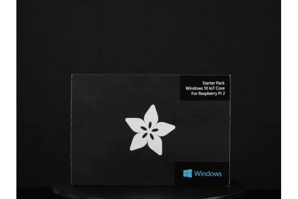 Placa Raspberry Pi 2 com Microsoft Windows 10 IoT Core - Pacote para Iniciantes