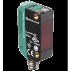 Sensor Retrorrefletivo Pepperl-Fuchs OBG5000-R100-2EP-IO-V31 com filtro de polarização para detecção de objetos