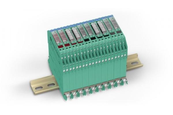 Barreiras Zener em Trilho DIN Pepperl-Fuchs Sistema-Z - Sistema no Trilho DIN