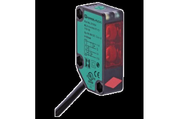 Sensor Fotoelétrico Difuso Pepperl-Fuchs Série RL31-8-H-800-RT-IO - Cabo Fixo
