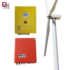 Sistema de Geração Eólica de Energia com Aerogerador, Controlador e Inversor Deming