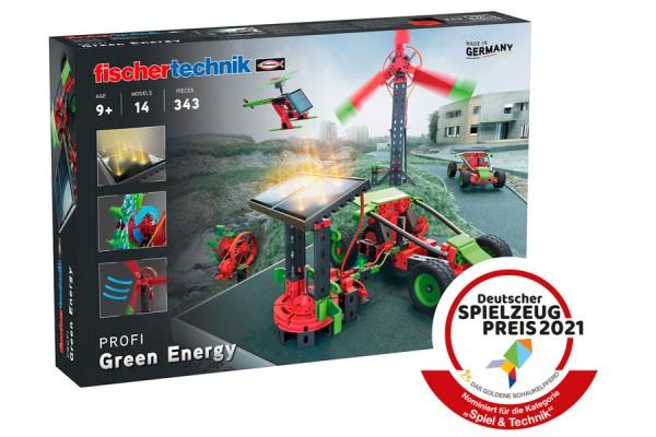 Kit Robótica Fischtechnik Green Energy Energias Renováveis 14 Modelos 343 peças
