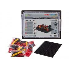 Kit Robótica Fischertechnik STEM Gear Tech 17 modelos 320 peças 26 experimentos
