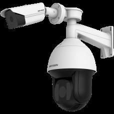 Câmera de Segurança Térmica Inteligente Bullet Hikvision DS-2TX3636-10A/V1 com Sistema de Rastreamento