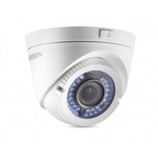 Câmera de Segurança Dome Hikvision DS-2CE56C2T-VFIR3 HD 720p IR 40m 2.8-12mm