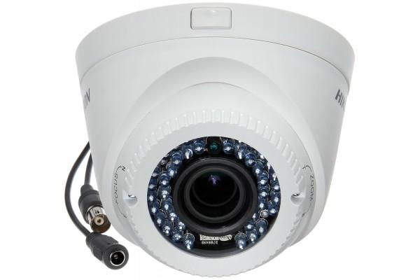 Câmera de Segurança Hikvision DS-2CE56D1T-VFIR3 Dome FullHD 1080p IR 40m 2.8-12mm