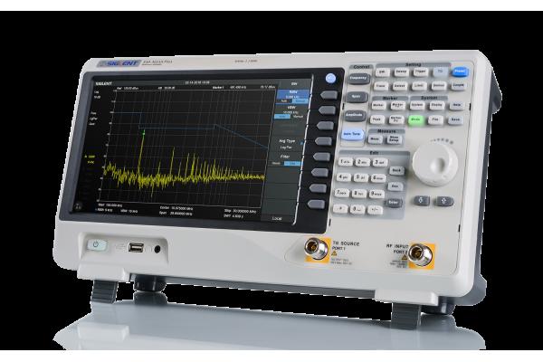 Analisador de Espectro Siglent Série SSA3000 Plus