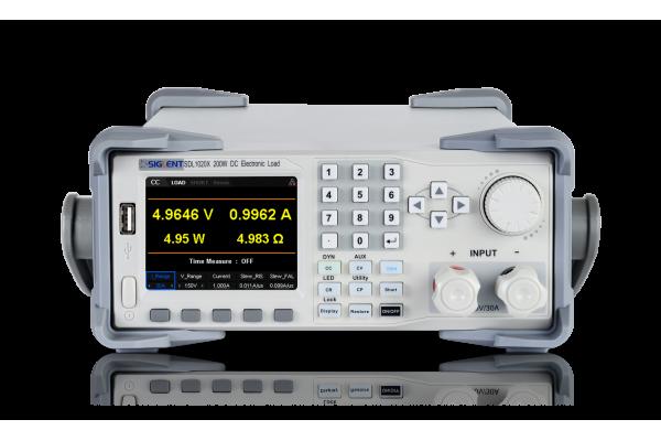Carga Eletrônica CC Programável Siglent Série SDL1000X/SDL1000X-E