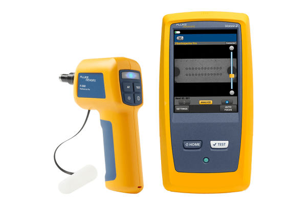 Analisador para Inspeção de MultiFibra Óptica Push-On Fluke FiberInspector FI-3000