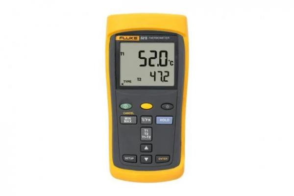 Termômetro com ponta de prova digital portátil Fluke 51-II