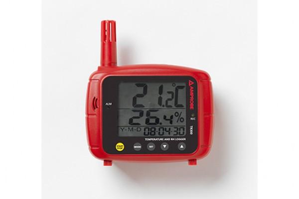 Registrador de Temperatura e Umidade Relativa Amprobe TR300