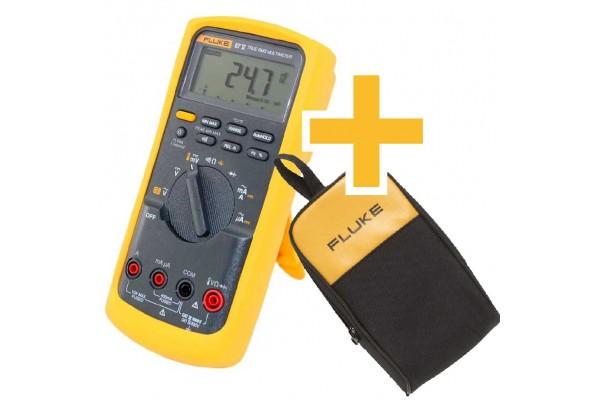 Multímetro Digital Industrial Fluke 87 V True-RMS com termômetro