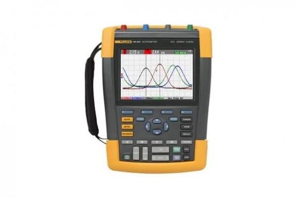 Osciloscópio Portátil Fluke ScopeMeter 190 Série II 190-504/S
