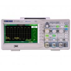 Osciloscópio Digital Siglent SDS1102CML+ 100 MHz 2 Canais