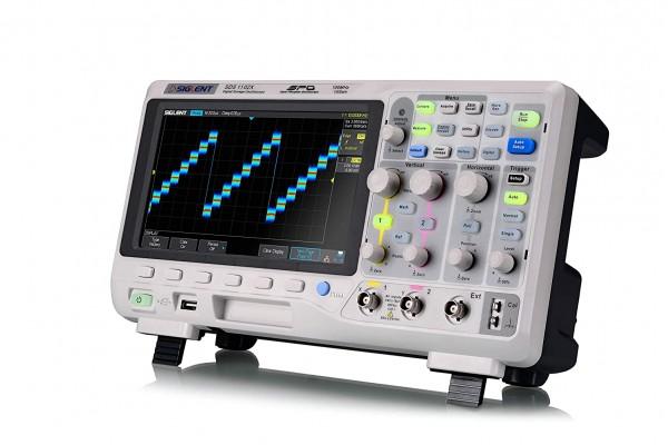 Osciloscópio Digital Siglent SDS1102X 100MHz 1 Canal