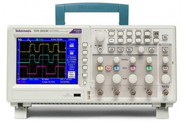 Osciloscópio Digital de Bancada Tektronix Série TDS2000C