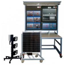 Bancada Didática Fotovoltaica com Conexão à Rede Edibon AEL PHVG