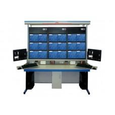 Bancada Didática Integrada de Eletrônica e Eletricidade Básica Ediibon LIEBA