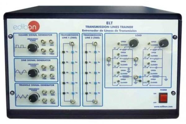 Bancada Didática Treinador de Linhas de Transmissão Edibon ELT