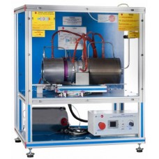 Bancada Didática Turbina a gás de fluxo axial controlada por computador Edibon TGFAC