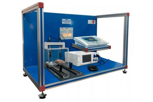 Bancada Didática de Ensino de Resposta Elétrica Biomédica Controlada por Computador Edibon BIERC
