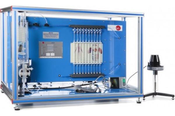 Bancada Didática de Ensino de Sistema Circulatório Biomédico Controlado por Computador Edibon BICSC