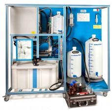 Bancada Didática de Processo de Biodiesel Controlado por Computador Edibon EBDC
