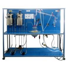 Bancada Didática de Processo de Bioetanol Controlado por Computador Edibon EBEC