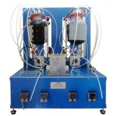 Bancada Didática de Processo de Biogás Controlado por Computador Edibon EBGC