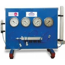 Bancada Didática de Sistema de Calibração de Sensores de Pressão Edibon SCSP