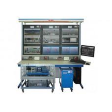 Bancada Didática de Usina eólica com aplicação de gerador de indução com alimentação dupla Edibon AEL-WPP