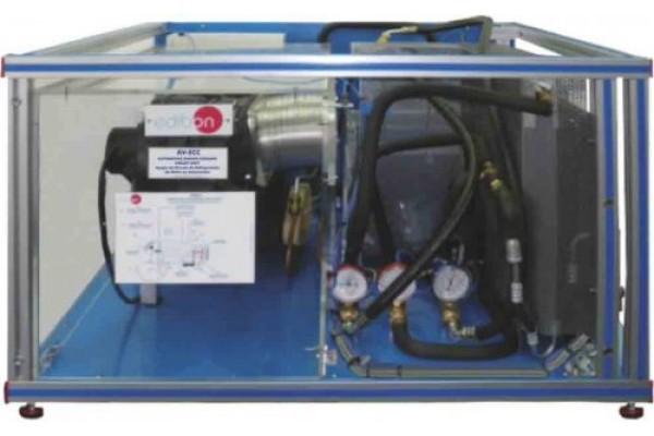 Bancada Didática Circuito de Refrigeração de Motor Automotivo Edibon AV ECC
